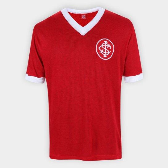 Camisa Internacional Retrô n° 5 Masculina - Vermelho