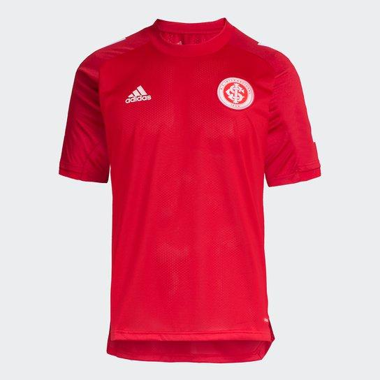 Camisa Internacional Treino 20/21 Adidas Masculina - Vermelho