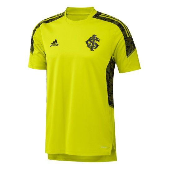 Camisa Internacional Treino 21/22 Adidas Masculina - Amarelo