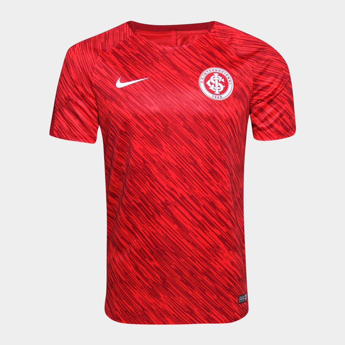 375f56565f6 Camisa Internacional Treino Nike Dry Squad Top SS GX Masculina - Compre  Agora