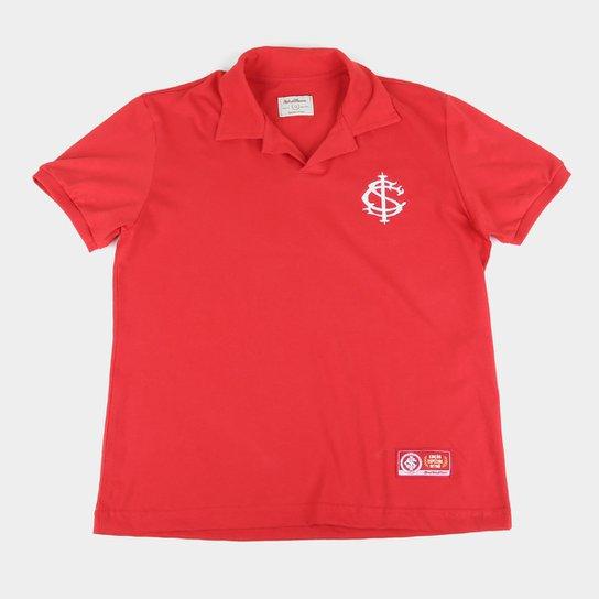 Camisa Polo Infantil Internacional Retrô Mania - Vermelho