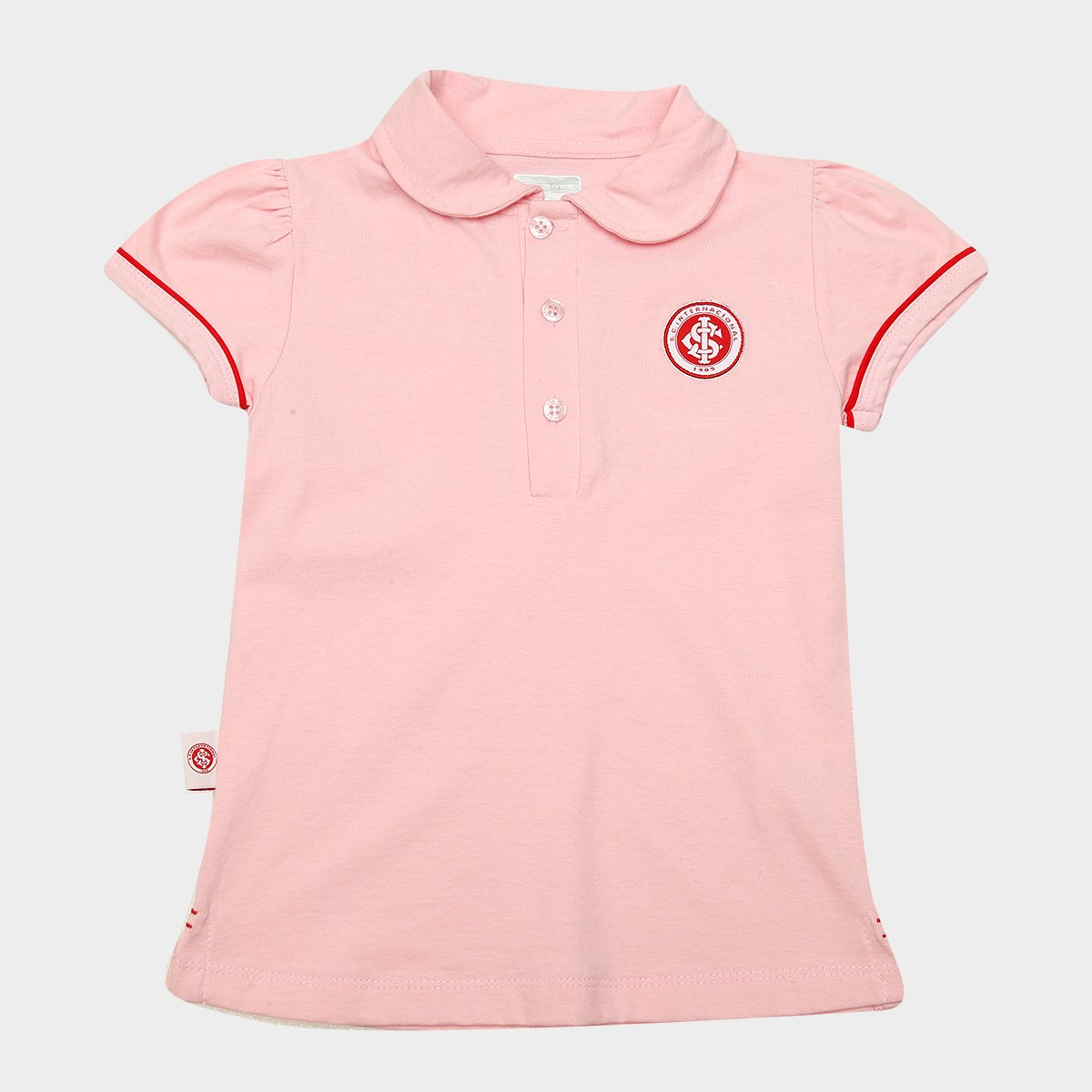 Camisa Polo Infantil Internacional Vivos Loja Do Inter