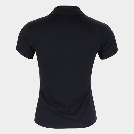 Camisa Polo Internacional Gold Retrô Mania Feminina - Preto