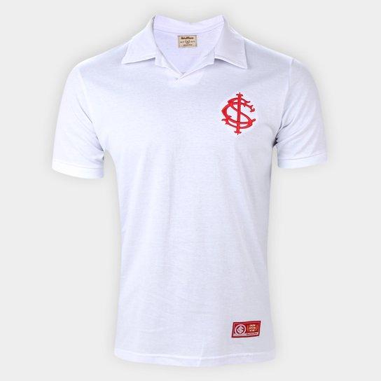 Camisa Polo Internacional Retrô Mania Masculina - Branco