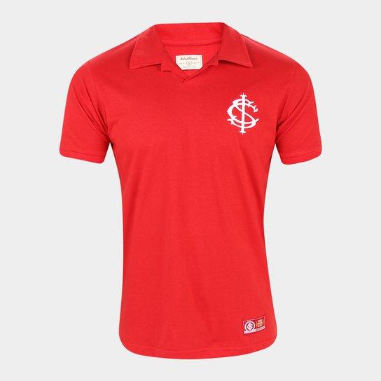 Camisa Polo Internacional Retrô Mania Masculina - Vermelho