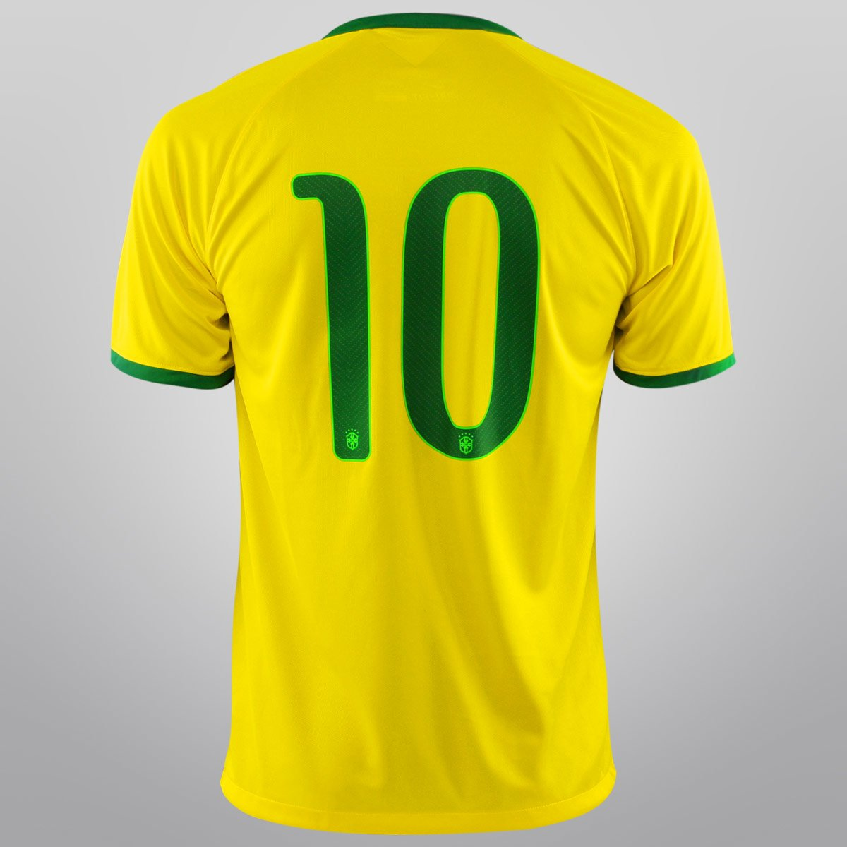 afe7228053 Camisa Seleção Brasil I 14 15 nº 10 - Torcedor Nike Masculina ...