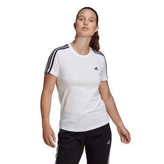 Camiseta Adidas 3 Listras Feminina