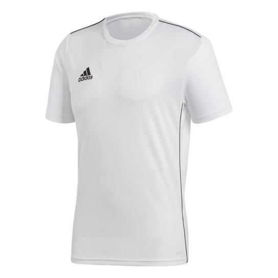 Camiseta Adidas Core 18 Masculina - Branco