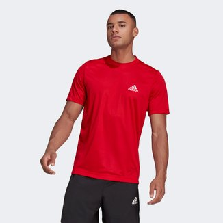 Camiseta Adidas Designed To Move Plain Masculina
