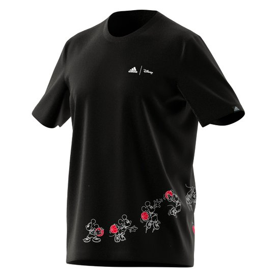 Camiseta Adidas Disney Basket Masculina - Preto