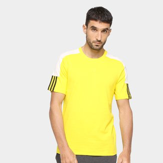 Camiseta Adidas French Colorblock Linear Masculina