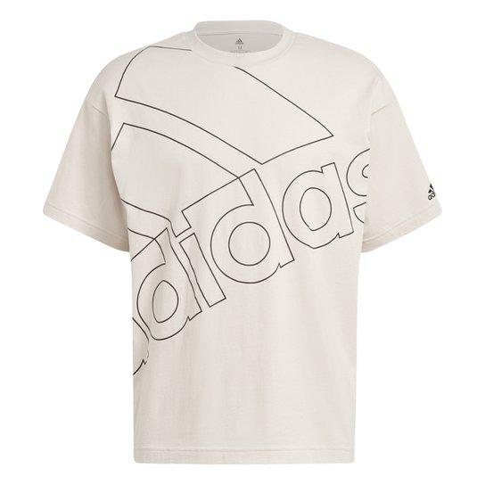 Camiseta Adidas Gráfica Favourites Q1 - Prata+Preto