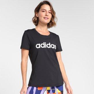 Camiseta Adidas Logo Linear Designed To Move Feminina