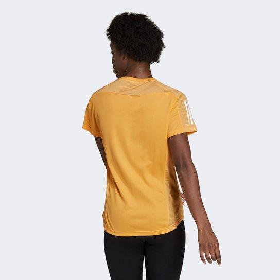 Camiseta Adidas Own The Run Feminina - Laranja
