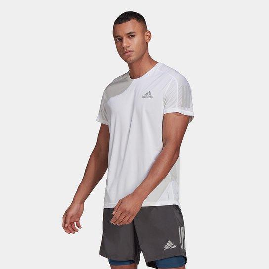 Camiseta Adidas Own The Run Masculina - Branco