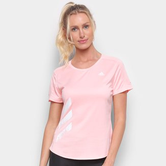 Camiseta Adidas Run It 3S PB Feminina