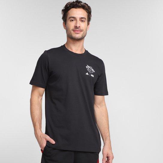 Camiseta Adidas Star Wars The Child Masculina - Preto+Branco