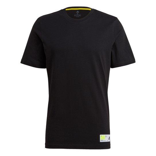 Camiseta Adidas Tech Grade Masculina - Preto