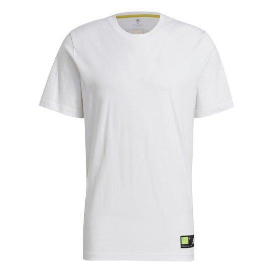 Camiseta Adidas Tech Grade Masculina - Branco