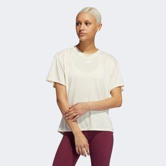 Camiseta Adidas Training Aeroready 3 Listras Feminina