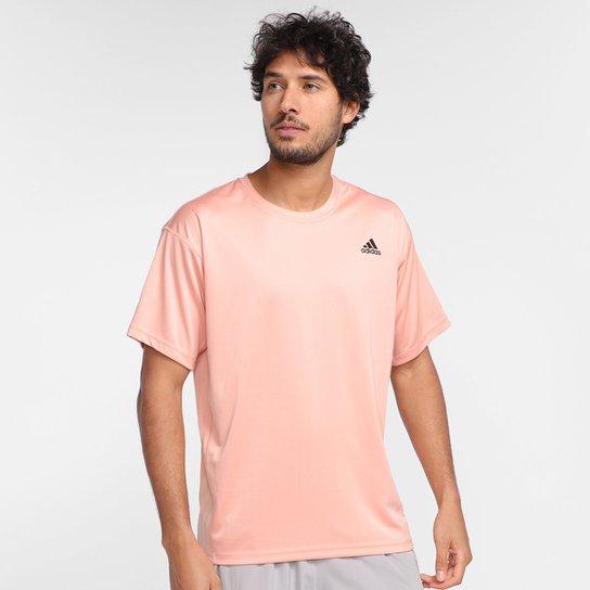 Camiseta Adidas Yoga Masculina - Rosa