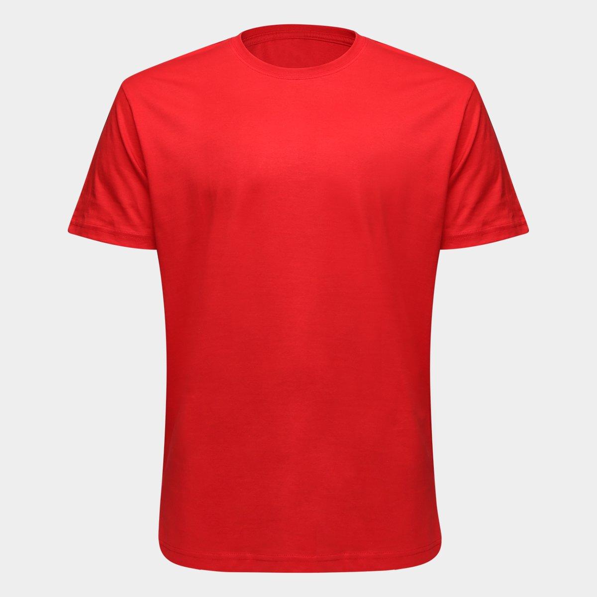 d000aa48c06 Camiseta Basic Blank Internacional - Masculina - Vermelho - Compre Agora