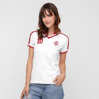 Camiseta Feminina Internacional nº 10 Edicão Especial