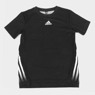 Camiseta Infantil Adidas 3S Aeroready Masculina