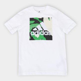 Camiseta Infantil Adidas Camuflada Graphic Masculina