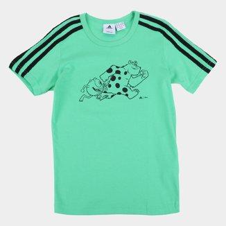 Camiseta Infantil Adidas Monsters Masculina