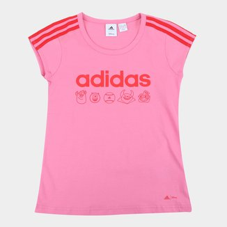 Camiseta Infantil Adidas Monsters S/A Feminina