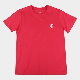 Camiseta Infantil Internacional Escudo Retrô Mania