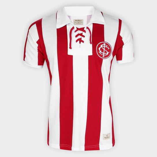 Camiseta Internacional 1909 Masculina - Vermelho+Branco