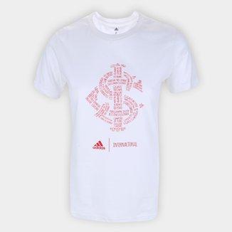 Camiseta Internacional Adidas Blank Feminina