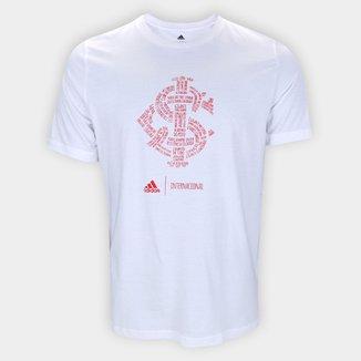 Camiseta Internacional Adidas Blank Masculina