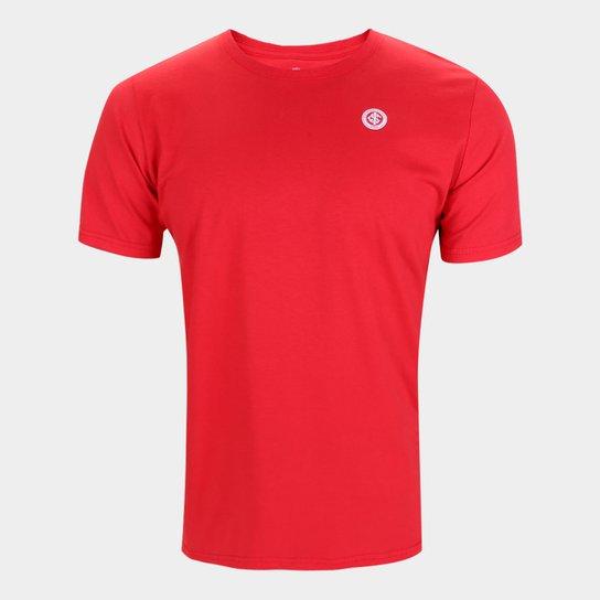 Camiseta Internacional Básica Masculina - Vermelho