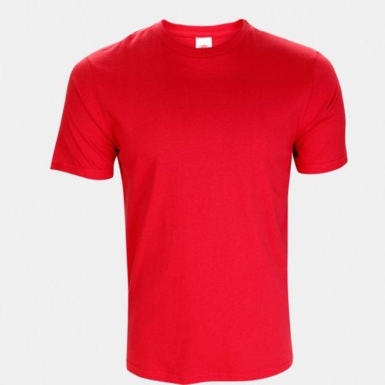 Camiseta Internacional Blanks Masculino - Vermelho