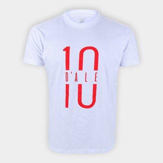 Camiseta Internacional D'Alessandro 10 RetrôMania Masculina