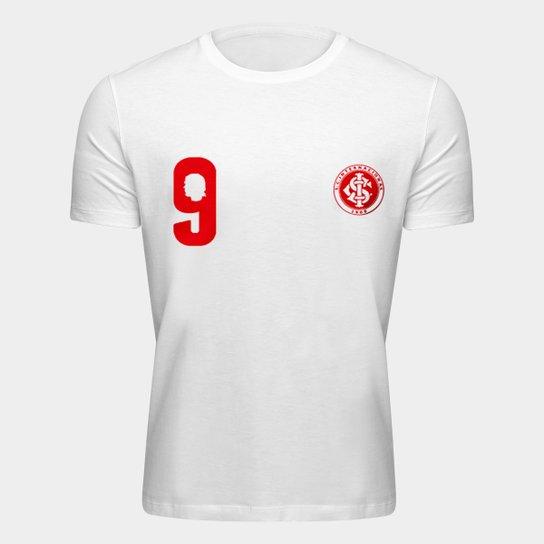 Camiseta Internacional Fernandão - Eterno Capitão Colorado Masculina - Branco