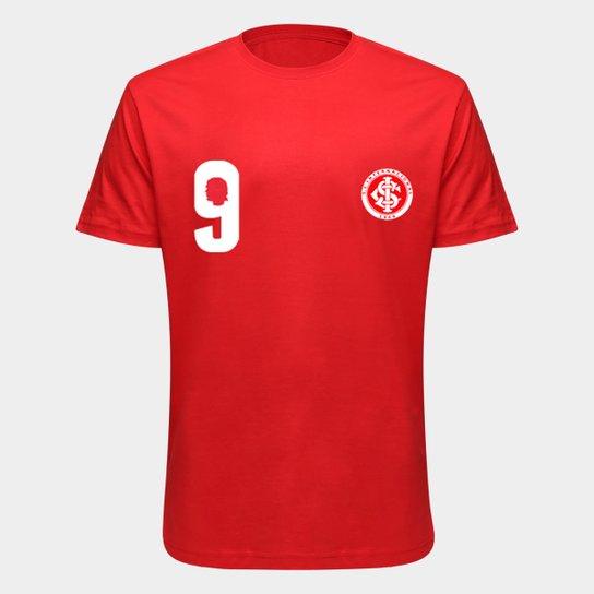 Camiseta Internacional Fernandão - Eterno Capitão Colorado Masculina - Vermelho