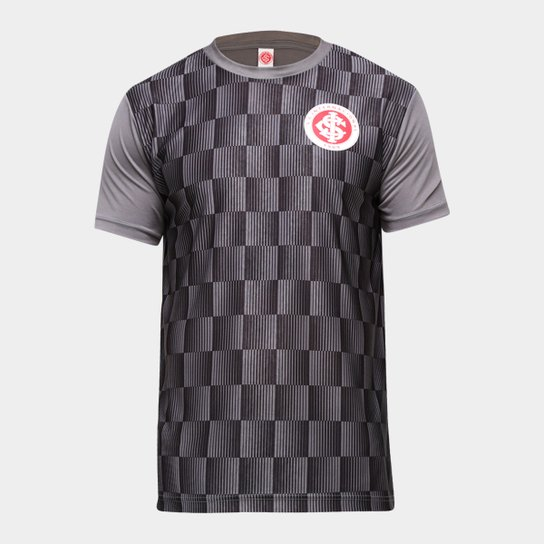 Camiseta Internacional Flag Masculina - Preto