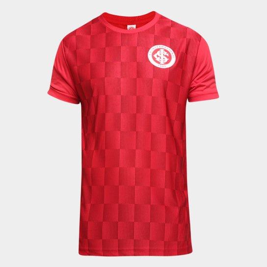 Camiseta Internacional Flag Masculina - Vermelho