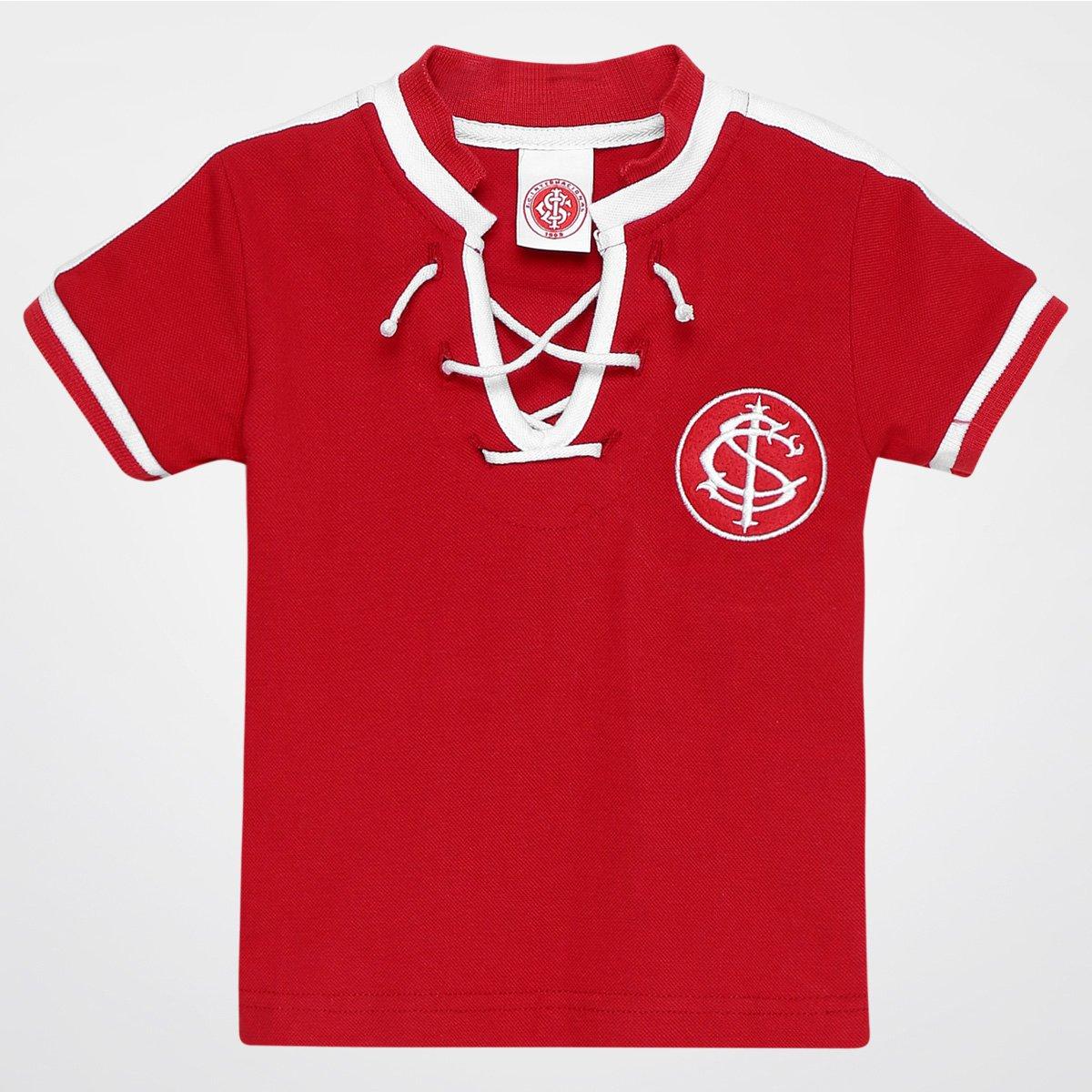 0ea862d6e5c Camiseta Internacional Infantil nº 10 Cordão Edição Especial - Compre Agora
