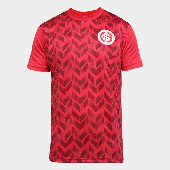 Camiseta Internacional Ludwig Masculina - Vermelho