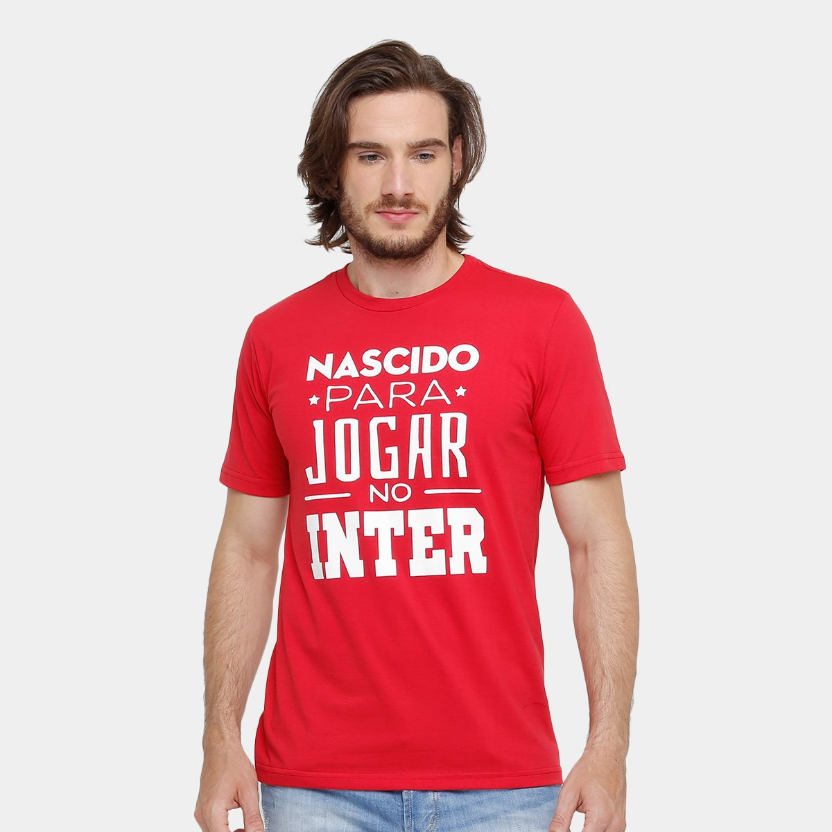 71ffa82f070 Camiseta Internacional Nascido para Jogar Masculina - Compre Agora ...