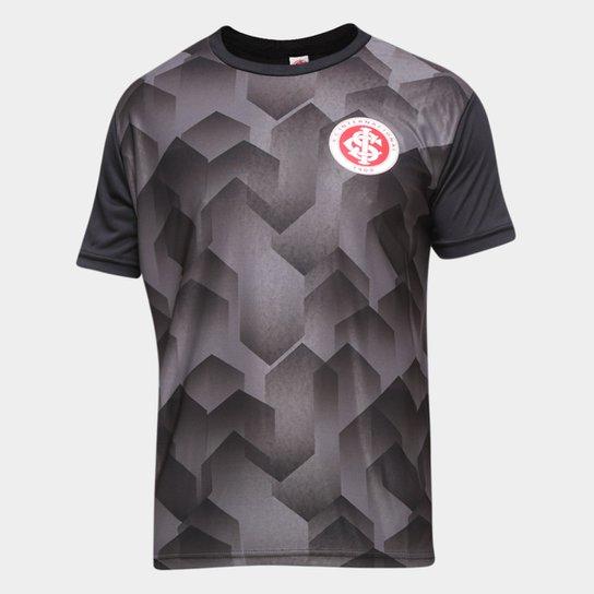 Camiseta Internacional Prisma Masculina - Preto