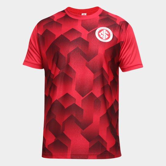 Camiseta Internacional Prisma Masculina - Vermelho