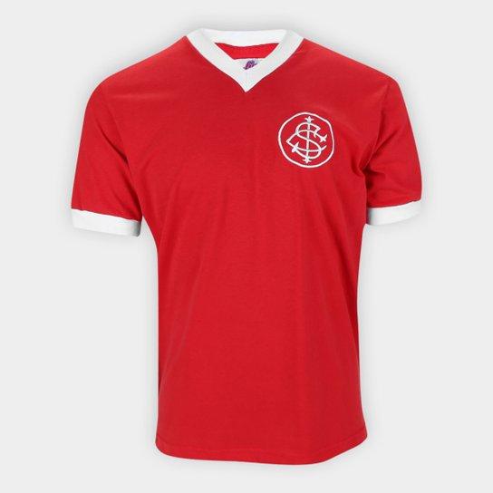Camiseta Internacional Retrô 1976 Nº5 Masculina - Vermelho