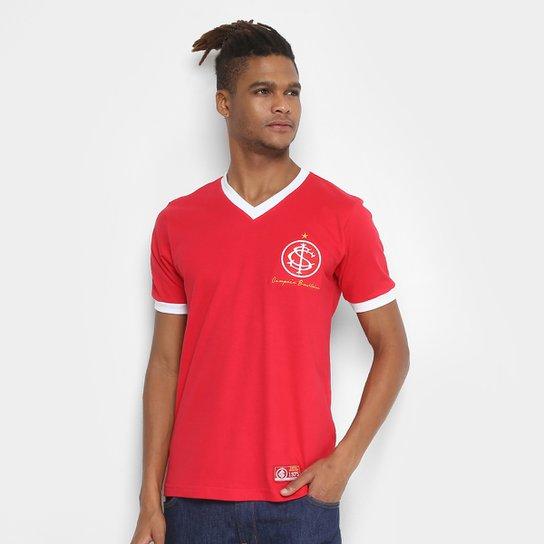 Camiseta Internacional Retrô Mania 1975 Masculina - Vermelho