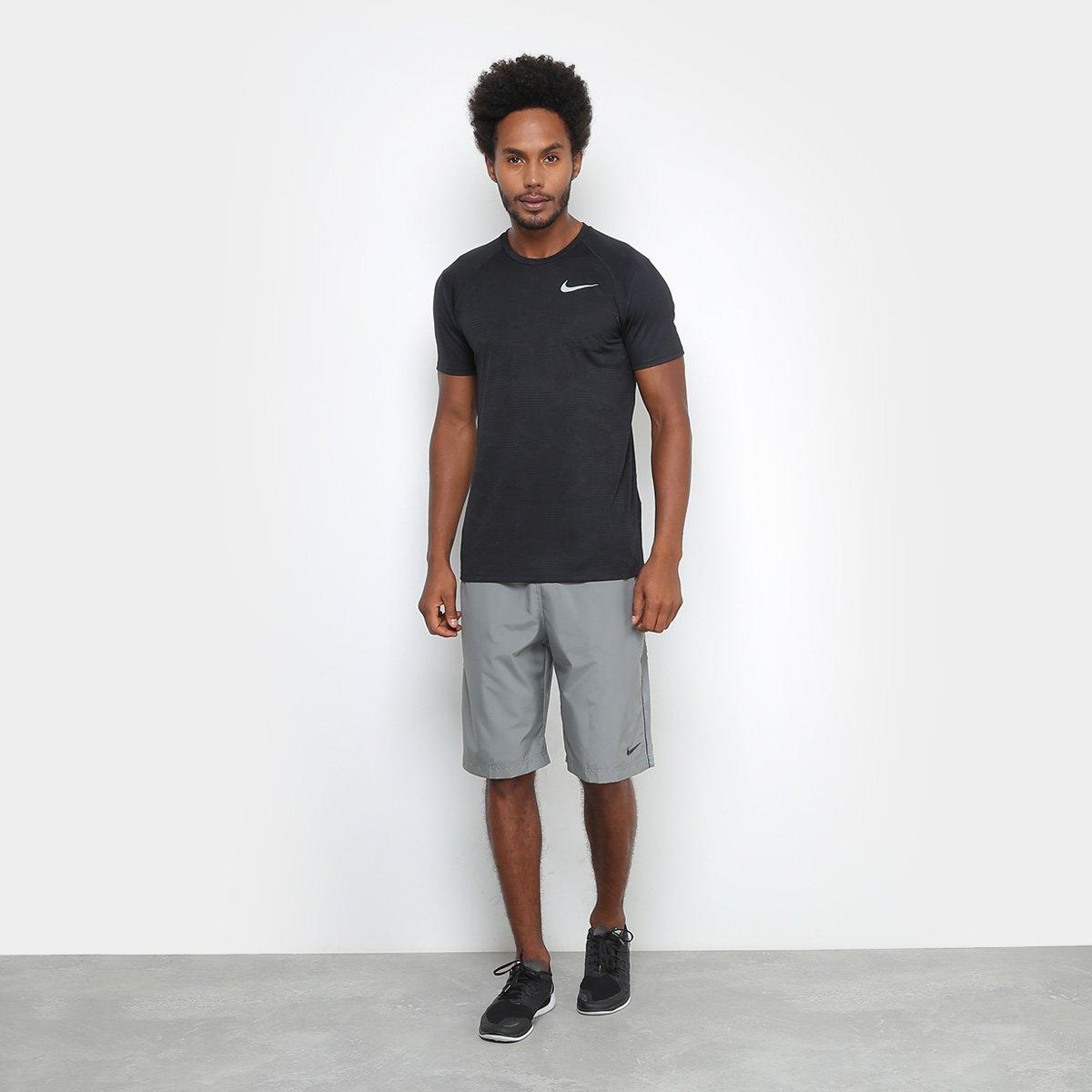 c871e5c9f4 Camiseta Nike Breathe Miler Ss Nv Masculina - Compre Agora
